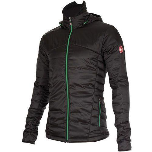 meccanico puffy kurtka mężczyźni czarny s 2018 kurtki termiczne i zimowe marki Castelli
