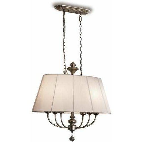 Maxlight Schuller Artemis 301113 lampa wisząca zwis 6x20W E14 biała