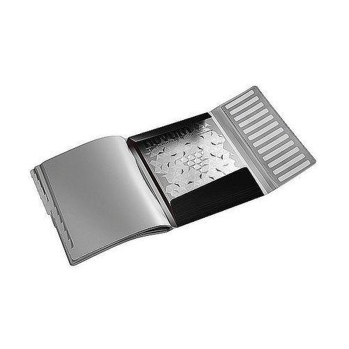 Teczka segregująca style 12 przegródek 200 kartek satynowa czerń 39960094 marki Leitz