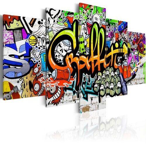 Obraz - Artystyczne graffiti