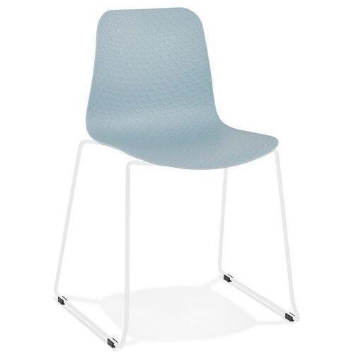 - krzesło bee, niebieskie marki Kokoon design
