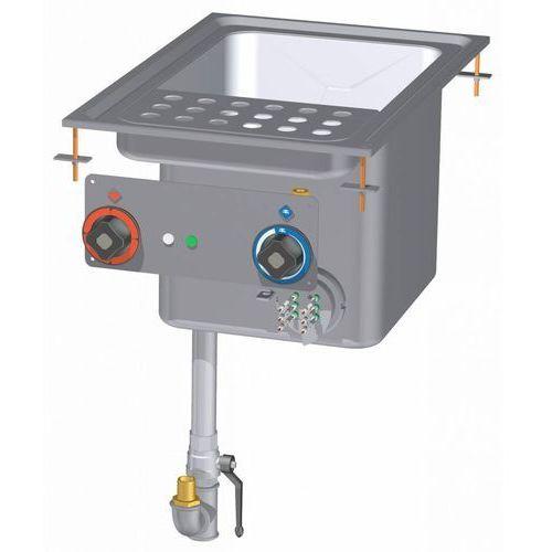 Makaroniarka elektryczna | 25L | GN 2/3 | 7800W | 400x600x(H)660mm