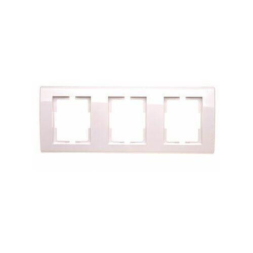 Elektro Plast Catrin - Ramka R3H 3xbiała - 2173-00 (5902012985144)