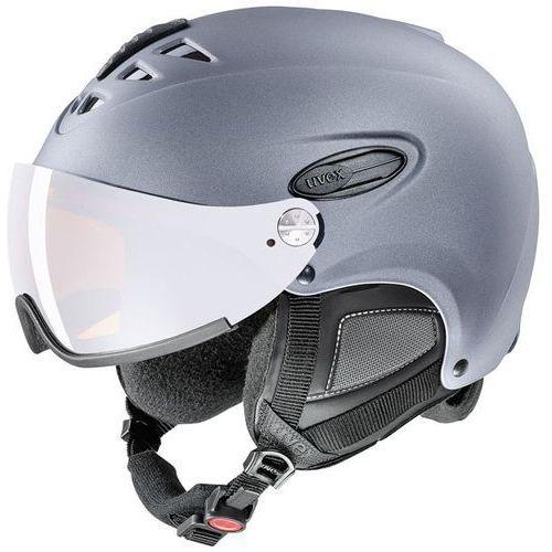Uvex Kask narciarski hlmt 300 visor strato met 566/162/5005 55-58 m
