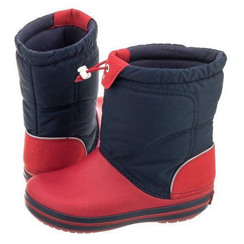 Śniegowce crocband lodge point boot k navy 203509-485 (cr106-b) marki Crocs