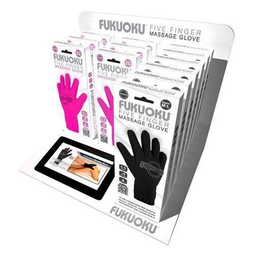 - zestaw sklepowy, rękawiczki do masażu - five finger display marki Fukuoku