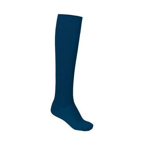 Skarpety sportowe podkolanówki getry piłkarskie VALENTO KRAMER granat 39-42, kolor niebieski