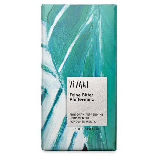Vivani : czekolada z miętą pieprzową bio - 100 g (4044889001051)
