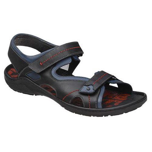 Sandały buty 1154-2-1 czarne, Krisbut