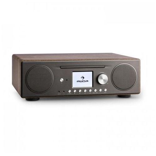 Connect cd radio internetowe odtwarzacz multimedialnyspotify connect bt sterowanie aplikacją kolor orzecha włoskiego marki Auna