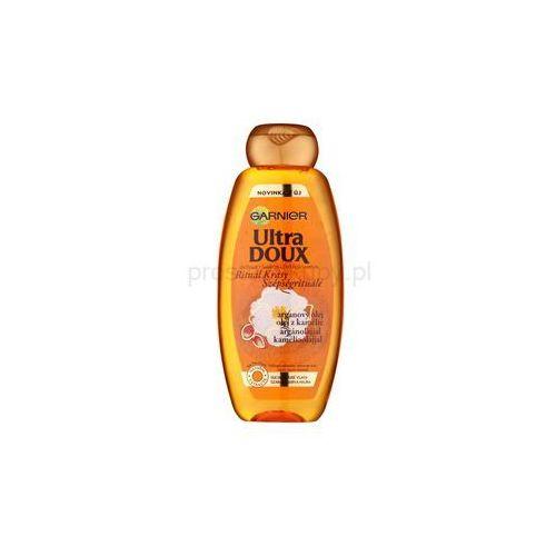 Garnier Ultra Doux odżywczy szampon do włosów suchych, grubych + do każdego zamówienia upominek. ()