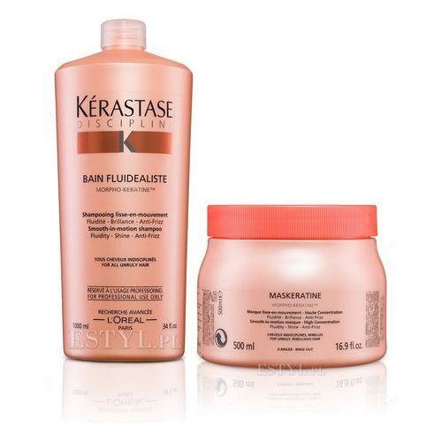 Kerastase  fluidealiste - zestaw dyscyplinujący włosy: szampon 1000ml + maska 500ml