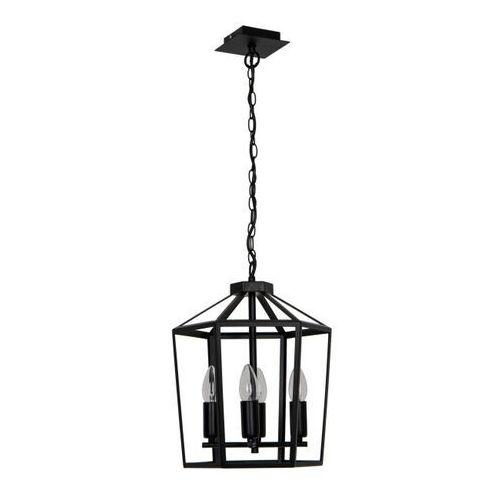 Lampa wisząca GoodHome Nantan 4-punktowa E14 czarna, P18194-4A