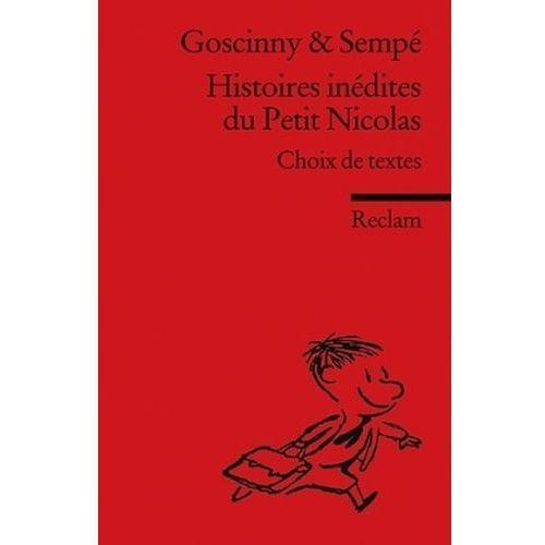 Histoires inédites du Petit Nicolas (9783150197127)