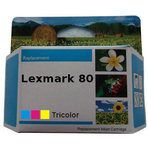 zastępczy atrament Lexmark 80 [12A1980E] color 100% nowy