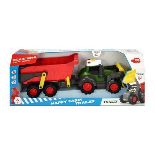 Happy traktor z przyczepką - darmowa dostawa od 199 zł!!! marki Dickie
