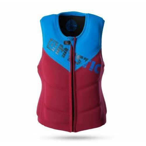 Kamizelka Mystic Star 2017 Wake Vest ZIP Bordeaux, 1741_20160401153305_sursport