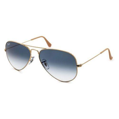 Ray-ban Okulary słoneczne rb3025 aviator gradient 001/3f