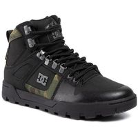 Sneakersy - pure high-top wr boot adyb100006 black/camo, Dc, 40-46.5