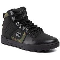 Sneakersy - pure high-top wr boot adyb100006 black/camo marki Dc