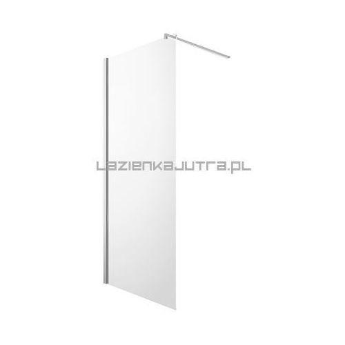 OMNIRES MARINA Ścianka Walk-In 120x200, szkło transparentne + powłoka Easy Clean DNR12X LUX