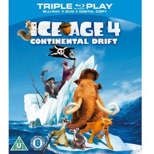 Ice Age 4: Continental Drift - Triple Play (Blu-Ray, DVD and Digital Copy) z kategorii Pozostałe filmy