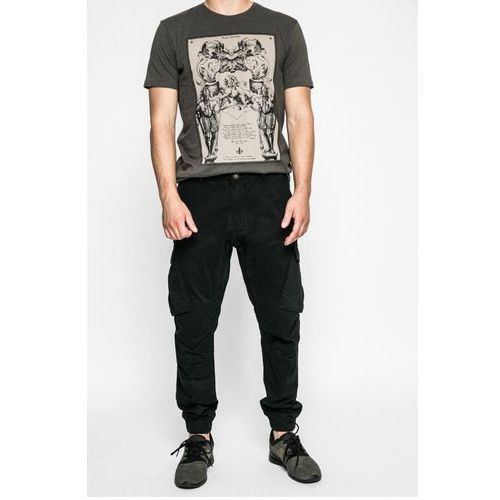 - spodnie graphic monochrome, Medicine