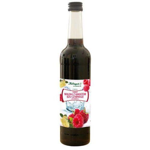 Syrop Malina z kwiatem bzu czarnego i witaminą C 400ml