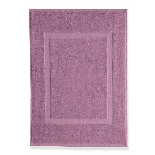 Mata łazienkowa hotelowa (2 szt.) dymny lila marki Bonprix