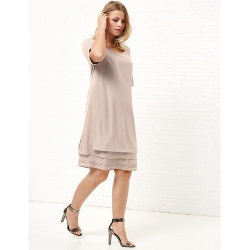 Sukienka w warstwowym stylu, Samoon