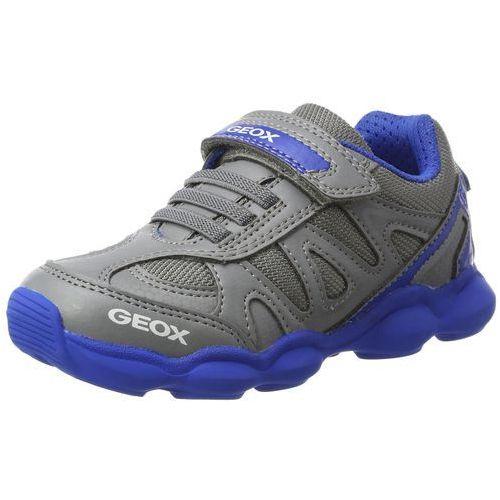 Geox chłopcy J munfrey Boy A Sneaker, kolor: szary, rozmiar: 35, kolor szary