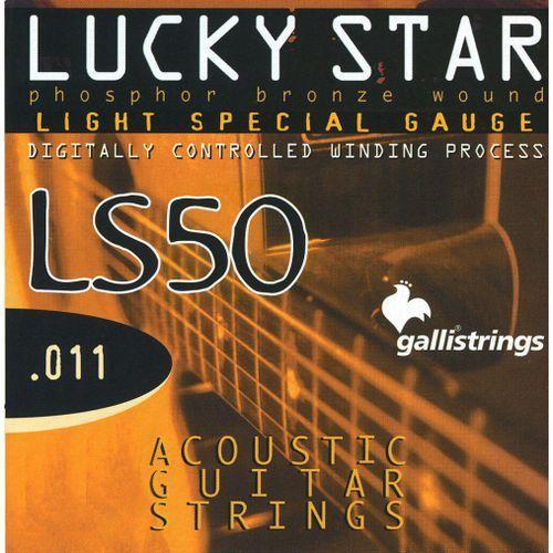 ls-50 light special - struny do gitary akustycznej marki Galli