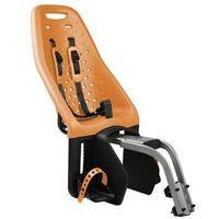 - yepp maxi fotelik rowerowy - pomarańczowy, montowany na ramę roweru marki Thule
