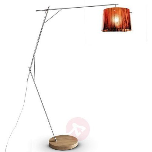 Slamp WOODY lampa stojąca Pomarańczowy, 1-punktowy - Nowoczesny - Obszar wewnętrzny - WOODY - Czas dostawy: od 8-12 dni roboczych, kolor pomarańczowy