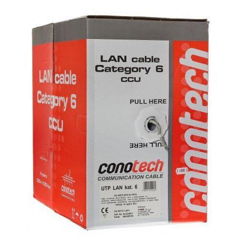 Conotech Kabel lan u/utp kat.6 , ilość - pull box (305m)