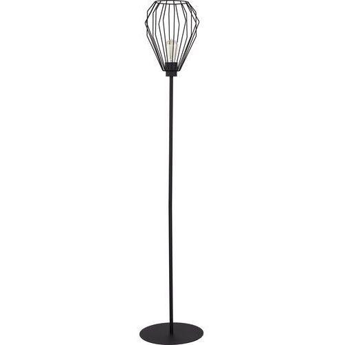 Tklighting Lampa stojąca podłogowa tk lighting brylant 1x60w e27 czarna 3035