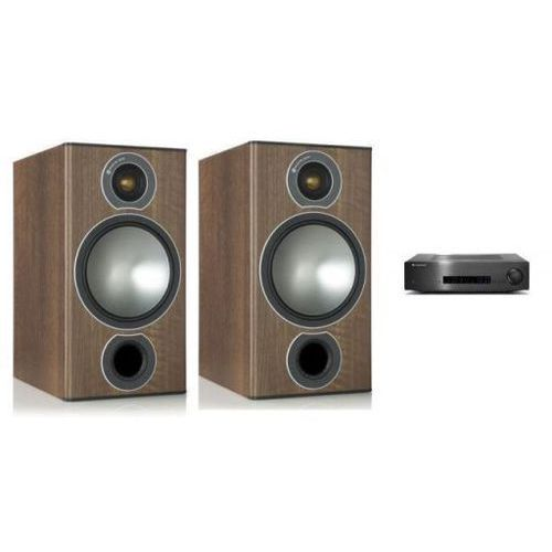 Zestawy Cambridge audio cxa80 + monitor audio bronze 2
