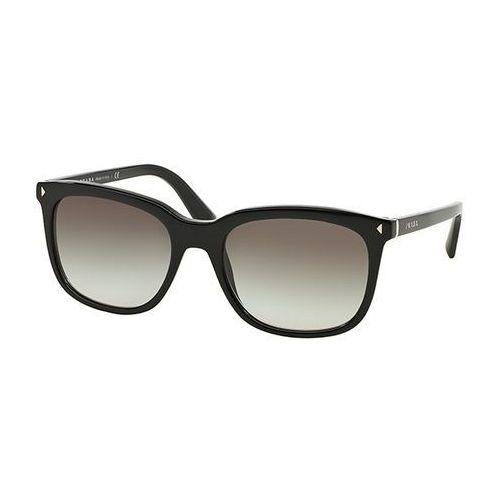 Okulary słoneczne pr12rsf journal asian fit 1ab0a7 marki Prada