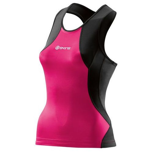 Skins TRI400 Kobiety różowy/czarny XS 2016 Pianki do pływania (9333826096645)