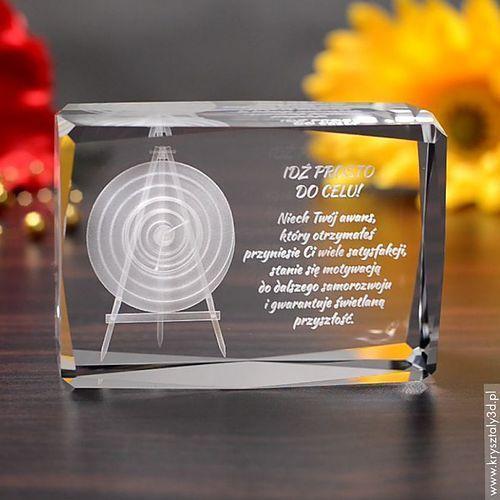 Tarcza Łucznicza 3D • personalizowany kryształ 3D • GRAWER 3D GRATIS