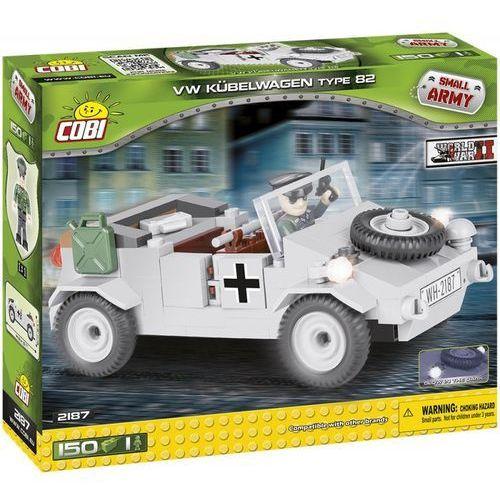 Armia 150 elementów VW Typ 82 Kubelwagen - samochód osobowo-terenowy - Cobi Klocki