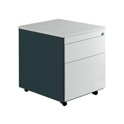 Kontener szufladowy na rolkach, wys. x głęb. 579x600 mm, 1 szuflada na dokumenty
