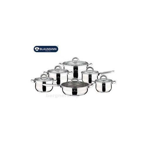 12 elementowy zestaw garnków stalowych  jumbo bl-3151 marki Blaumann