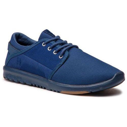 Sneakersy ETNIES - Scout 4101000419 Navy/Navy/Gum 464, kolor niebieski