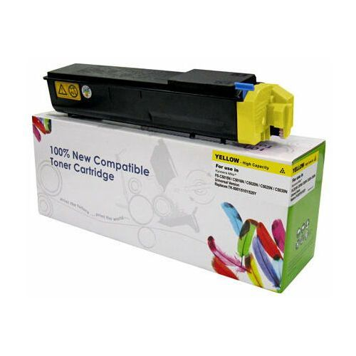 Cartridge web Toner yellow kyocera tk500/tk510/tk520 zamiennik tk-500y/tk510y/tk520y, 8000 stron