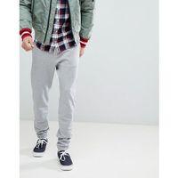 Tommy Hilfiger Slim Fit Cuffed Joggers in Grey - Grey, kolor szary