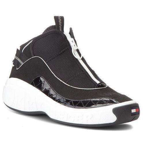 Sneakersy TOMMY JEANS - Rwb N01 Tommy Jeans Sneaker EM0EM00174 Black 990