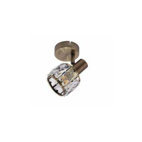 Krislamp venus kr 374-1w kinkiet lampa ścienna spot 1x40w e14 patyna (5907582568872)