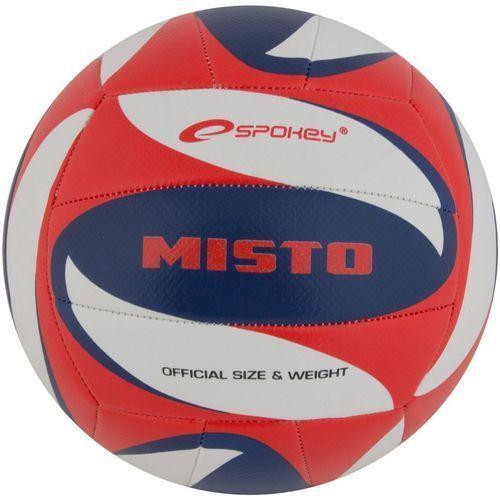 Piłka siatkowa SPOKEY Misto Czerwono-Niebieski (rozmiar 5), towar z kategorii: Siatkówka