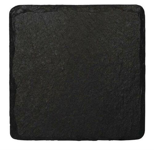 Taca z łupka naturalnego kwadratowa | 4 szt. | 13x13cm